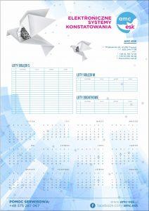 Kalendarz planszowy edycja 2018